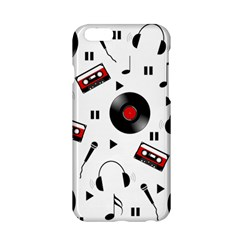 Music Pattern Apple Iphone 6/6s Hardshell Case by Valentinaart