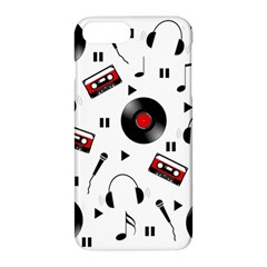 Music Pattern Apple Iphone 7 Plus Hardshell Case by Valentinaart