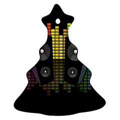 Loudspeakers  Ornament (christmas Tree)