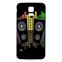 Loudspeakers  Samsung Galaxy S5 Back Case (white) by Valentinaart