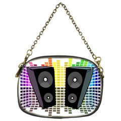 Loudspeakers   Transparent Chain Purses (one Side)  by Valentinaart