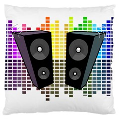 Loudspeakers   Transparent Large Cushion Case (two Sides)