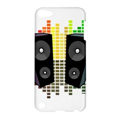 Loudspeakers   Transparent Apple Ipod Touch 5 Hardshell Case by Valentinaart