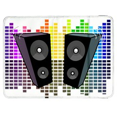 Loudspeakers   Transparent Samsung Galaxy Tab 7  P1000 Flip Case by Valentinaart