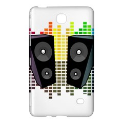 Loudspeakers   Transparent Samsung Galaxy Tab 4 (7 ) Hardshell Case  by Valentinaart