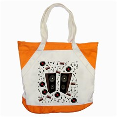 Loud Music Accent Tote Bag by Valentinaart