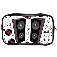 Loud Music Toiletries Bags 2 Side by Valentinaart