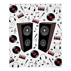 Loud Music Shower Curtain 60  X 72  (medium)  by Valentinaart