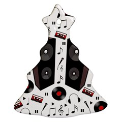 Loud Music Christmas Tree Ornament (two Sides)