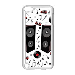 Loud Music Apple Ipod Touch 5 Case (white) by Valentinaart
