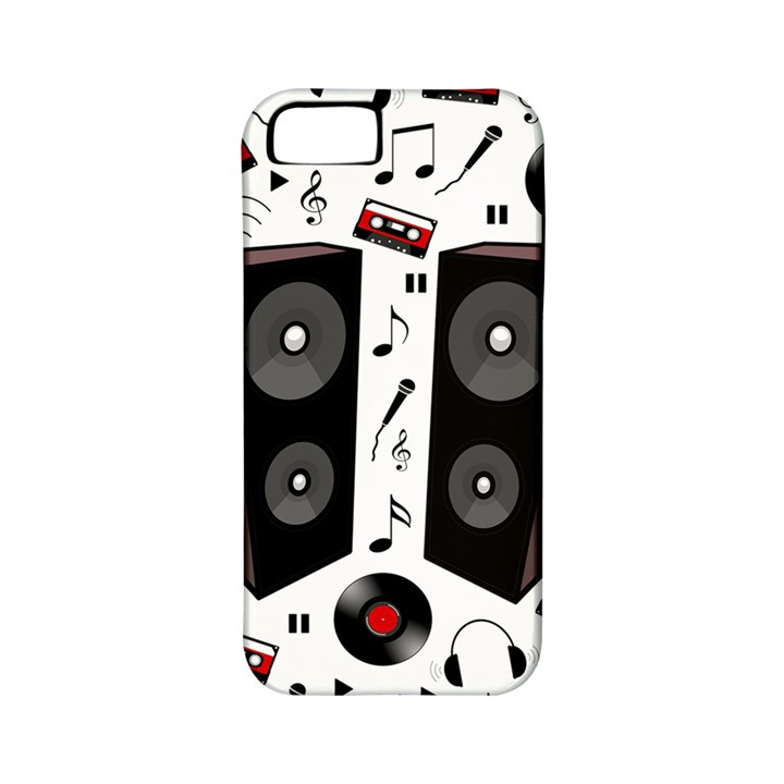 Loud music Apple iPhone 5 Classic Hardshell Case (PC+Silicone)