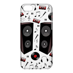 Loud Music Apple Iphone 5c Hardshell Case by Valentinaart