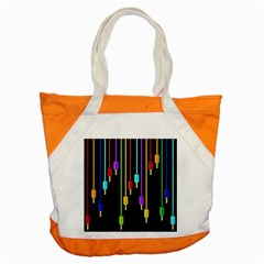 Plug In Accent Tote Bag by Valentinaart
