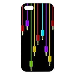 Plug In Iphone 5s/ Se Premium Hardshell Case by Valentinaart