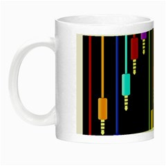 Plug In Night Luminous Mugs by Valentinaart