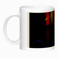 Energy Of The Sound Night Luminous Mugs by Valentinaart