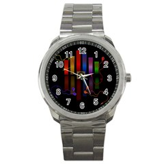 Energy Of The Sound Sport Metal Watch by Valentinaart