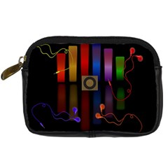 Energy Of The Sound Digital Camera Cases by Valentinaart