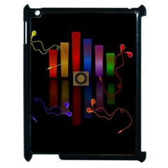 Energy Of The Sound Apple Ipad 2 Case (black) by Valentinaart