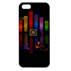 Energy Of The Sound Apple Iphone 5 Seamless Case (black) by Valentinaart