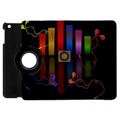 Energy Of The Sound Apple Ipad Mini Flip 360 Case by Valentinaart