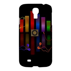 Energy Of The Sound Samsung Galaxy S4 I9500/i9505 Hardshell Case by Valentinaart
