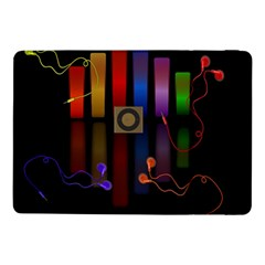 Energy Of The Sound Samsung Galaxy Tab Pro 10 1  Flip Case by Valentinaart
