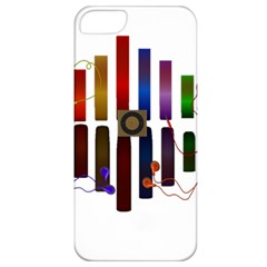 Energy Of The Sound Apple Iphone 5 Classic Hardshell Case by Valentinaart