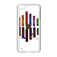 Energy Of The Sound Apple Ipod Touch 5 Case (white) by Valentinaart