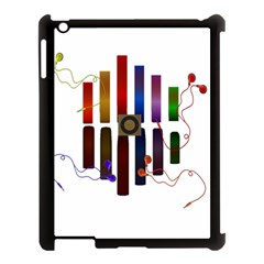 Energy Of The Sound Apple Ipad 3/4 Case (black) by Valentinaart