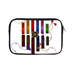 Energy Of The Sound Apple Ipad Mini Zipper Cases by Valentinaart