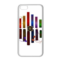 Energy Of The Sound Apple Iphone 5c Seamless Case (white) by Valentinaart