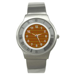 Fugly Christmas Xmas Pattern Stainless Steel Watch