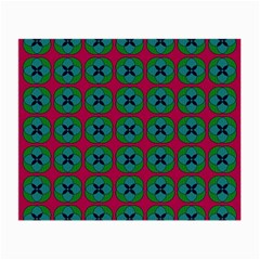 Geometric Patterns Small Glasses Cloth (2 Side) by Nexatart