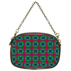 Geometric Patterns Chain Purses (one Side)