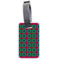 Geometric Patterns Luggage Tags (one Side)  by Nexatart