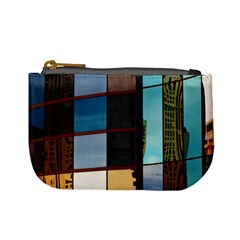 Glass Facade Colorful Architecture Mini Coin Purses by Nexatart