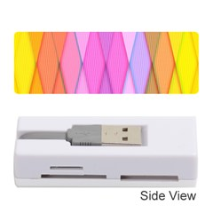 Graphics Colorful Color Wallpaper Memory Card Reader (stick)