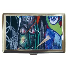 Graffiti Art Urban Design Paint Cigarette Money Cases by Nexatart