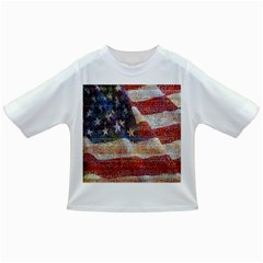 Grunge United State Of Art Flag Infant/toddler T Shirts