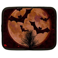 Halloween Card Scrapbook Page Netbook Case (large) by Nexatart