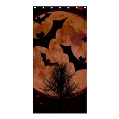 Halloween Card Scrapbook Page Shower Curtain 36  X 72  (stall)  by Nexatart