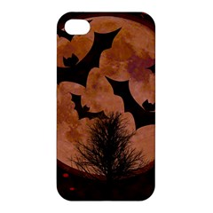Halloween Card Scrapbook Page Apple Iphone 4/4s Hardshell Case by Nexatart