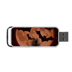Halloween Card Scrapbook Page Portable Usb Flash (one Side)