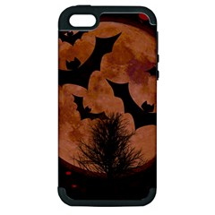 Halloween Card Scrapbook Page Apple Iphone 5 Hardshell Case (pc+silicone) by Nexatart