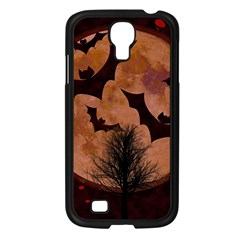 Halloween Card Scrapbook Page Samsung Galaxy S4 I9500/ I9505 Case (black) by Nexatart