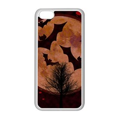 Halloween Card Scrapbook Page Apple Iphone 5c Seamless Case (white) by Nexatart