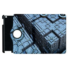 Grid Maths Geometry Design Pattern Apple Ipad 3/4 Flip 360 Case by Nexatart