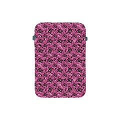 Floral Pink Collage Pattern Apple Ipad Mini Protective Soft Cases by dflcprints