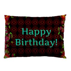Happy Birthday! Pillow Case (two Sides) by Nexatart